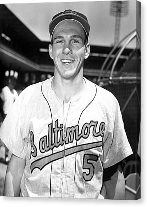 Vacuum Canvas Print - Brooks Robinson by Retro Images Archive
