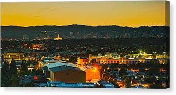 Getty Canvas Print - Buildings In A City, Los Angeles by Panoramic Images