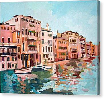Canal Grande Canvas Print by Filip Mihail