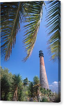 Cape Florida Lighthouse, Fl Canvas Print