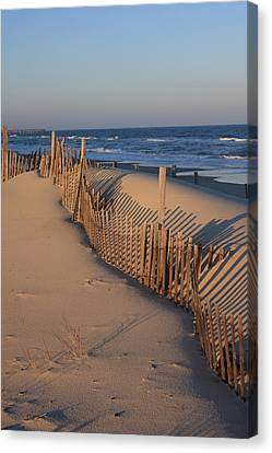 Canvas Print featuring the photograph Cape Hatteras Dunes  by Mountains to the Sea Photo