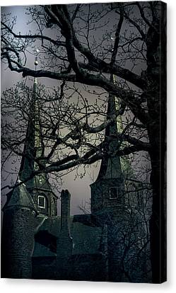 Creepy Canvas Print - Castle by Joana Kruse