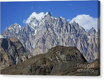 Cathedral Spires Mountain Peaks Canvas Print by Robert Preston