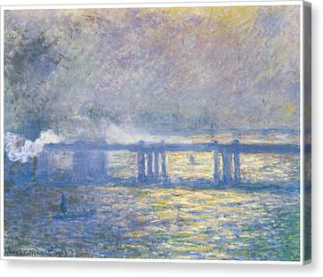 Charing Cross Bridge Canvas Print
