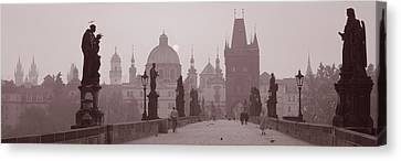Charles Bridge Prague Czech Republic Canvas Print