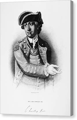 Carousel Collection Canvas Print - Charles Lee (1731-1782) by Granger
