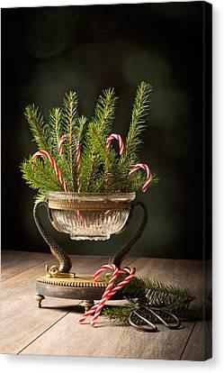 Christmas Decoration Canvas Print by Amanda Elwell
