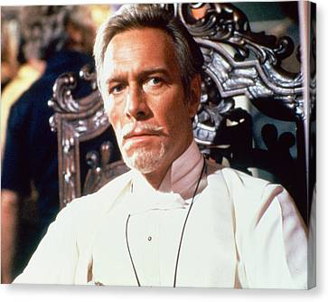 Christopher Plummer Canvas Print by Silver Screen