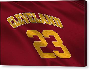 Cleveland Cavaliers Uniform Canvas Print