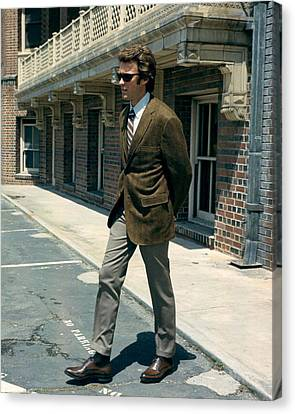 Clint Eastwood In Dirty Harry  Canvas Print