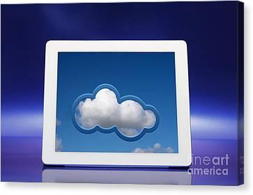 Cloud Computing Canvas Print