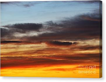 Cloudscape At Sunrise Canvas Print by Sami Sarkis