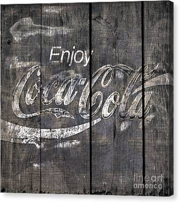 Coca Cola Sign Canvas Print by John Stephens