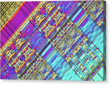 Computer Memory Chip Canvas Print