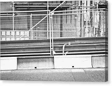 Construction Site Canvas Print by Tom Gowanlock