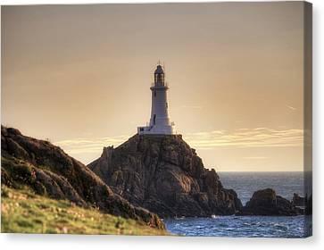 Corbiere Lighthouse - Jersey Canvas Print