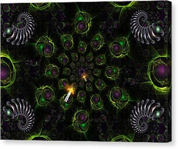 Cosmic Embryos Canvas Print by Shawn Dall