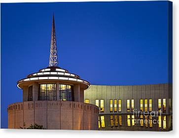 Nashville Tennessee Canvas Print - Country Music Hall Of Fame by Brian Jannsen