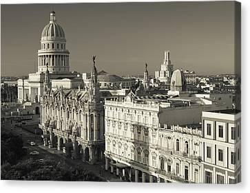 Habana Canvas Print - Cuba, Havana, Havana Vieja by Walter Bibikow