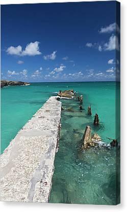 Cuba, Havana Province, Playas Del Este Canvas Print