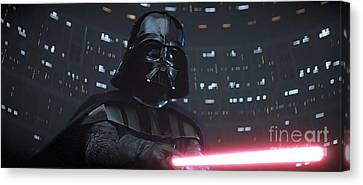 Darth Vader Canvas Print by Baltzgar