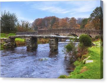 Dartmoor - Postbridge Canvas Print by Joana Kruse