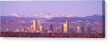 Foothills Canvas Print - Denver, Colorado, Usa by Panoramic Images