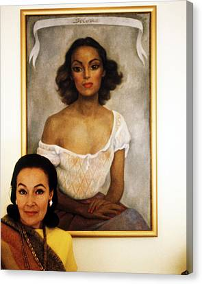 Dolores Del Rio Canvas Print by Silver Screen