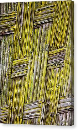 Dorze In The Guge Mountains, Ethiopia Canvas Print by Martin Zwick