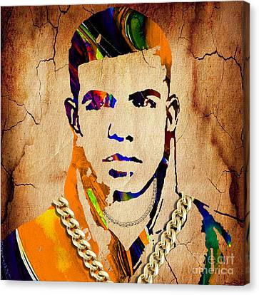 Drake Canvas Print - Drake Collection by Marvin Blaine