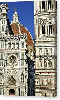 Duomo Santa Maria Del Fiore Canvas Print by Sami Sarkis