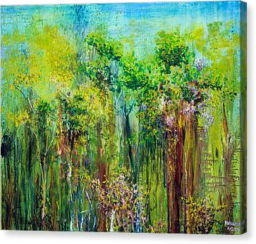Edge Of Eden Canvas Print by Regina Valluzzi