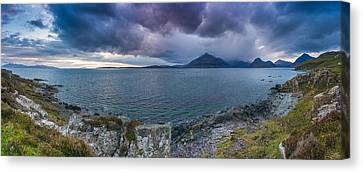 Elgol Sunset Canvas Print