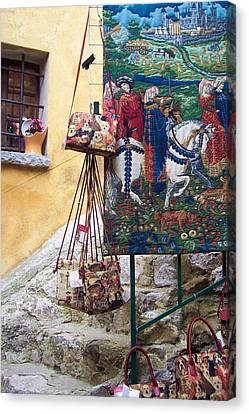 Eze Tapestry Canvas Print by David Nichols