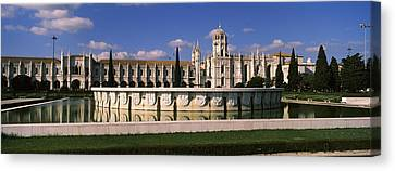 Facade Of A Monastery, Mosteiro Dos Canvas Print by Panoramic Images