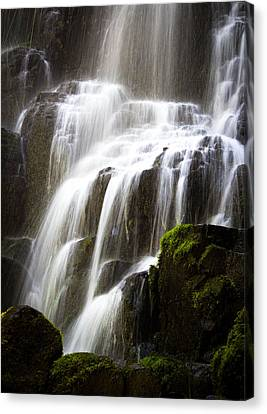 Canvas Print featuring the photograph Fairy Falls by Patricia Babbitt
