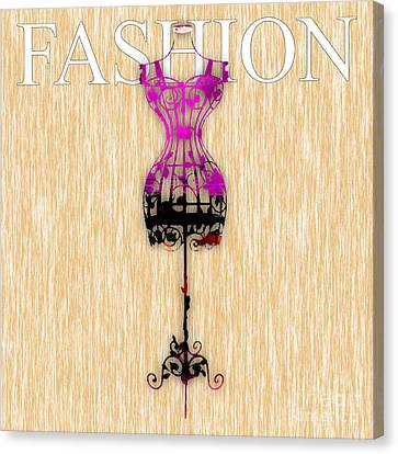 Fashion Canvas Print by Marvin Blaine