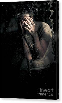 Ghostly Canvas Print - Fear by Jorgo Photography - Wall Art Gallery
