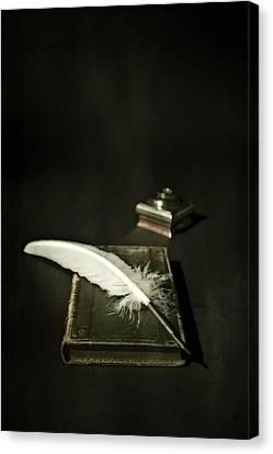 Feather Canvas Print by Joana Kruse
