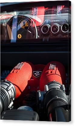 Ferrari Engine Canvas Print