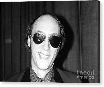 Flamin Groovies Canvas Print by David Fowler