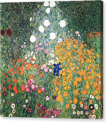 Flower Garden Canvas Print by Celestial Images