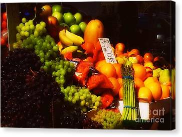 Canvas Print featuring the photograph 3 For 2 Dollars by Miriam Danar