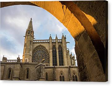 France, Languedoc-roussillon, Ancient Canvas Print by Emily Wilson
