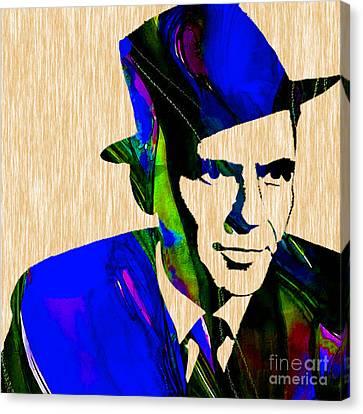 Frank Sinatra Canvas Print - Frank Sinatra Painting by Marvin Blaine