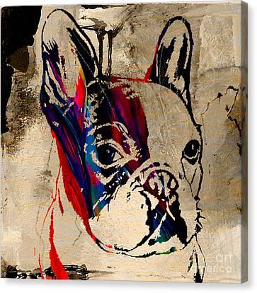 French Bulldog Canvas Print by Marvin Blaine