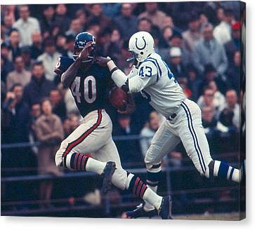 Gale Sayers Canvas Print