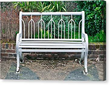 Garden Bench Canvas Print