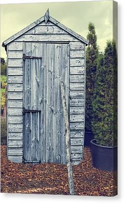 Shed Canvas Print - Garden Shed by Amanda Elwell