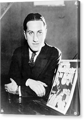 Gershwin Canvas Print - George Gershwin by Granger